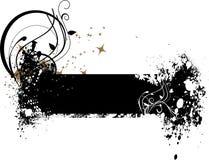 grunge знамени Стоковое Изображение