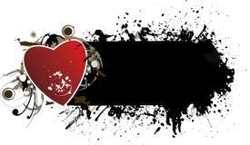 grunge знамени Стоковые Изображения RF