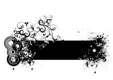 grunge знамени Стоковое Фото