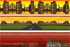 grunge знамен урбанское Иллюстрация штока