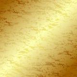 grunge золота предпосылки Стоковые Фотографии RF
