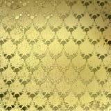 grunge золота предпосылки Стоковое Изображение RF
