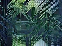 grunge компьютера предпосылки Стоковое Фото