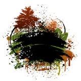 grunge конструкции осени Стоковое Изображение