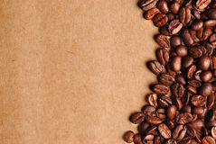 grunge кофе предпосылки Стоковая Фотография RF