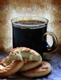 grunge кофе Стоковое Изображение