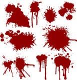 grunge крови Стоковые Изображения