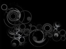 grunge круга Стоковое Изображение