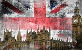 Grunge Лондон Стоковая Фотография RF