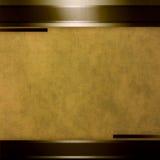 Grunge мустарда предпосылки Стоковое Изображение RF