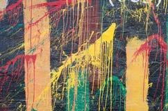 grunge надписи на стенах Стоковые Фотографии RF
