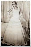 grunge невесты Стоковые Фото