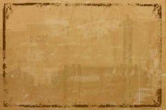 Grunge обрамило предпосылку Стоковая Фотография RF