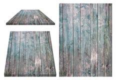 Grunge, пакостная, покрашенная деревянная стена, таблица, поверхность пола, деревянная текстура Предметы изолированы на белой пре Стоковое Фото