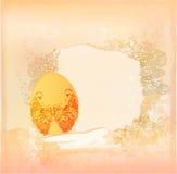 grunge пасхального яйца предпосылки Стоковые Изображения