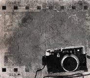 grunge пленки для транспарантной съемки Стоковая Фотография RF