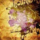 grunge предпосылки абстрактного искусства Стоковая Фотография RF
