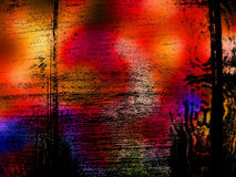 grunge предпосылки живое Стоковое Фото