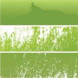 grunge предпосылки зеленое Стоковые Изображения