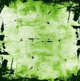 grunge предпосылки зеленое Стоковое Изображение