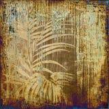 grunge предпосылки искусства флористическое Стоковое Фото