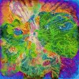 grunge предпосылки искусства флористическое Стоковое Изображение