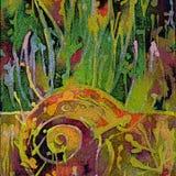 grunge предпосылки искусства флористическое иллюстрация штока