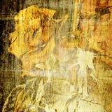 grunge предпосылки искусства флористическое Стоковая Фотография RF