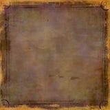 grunge предпосылки коричневое Стоковые Фотографии RF