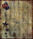 grunge предпосылки патриотическое Стоковая Фотография RF