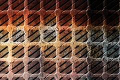 grunge предпосылки ржавое Стоковое Изображение RF