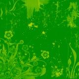 grunge предпосылки флористическое иллюстрация вектора