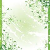 grunge предпосылки флористическое Стоковое Изображение RF