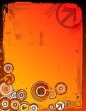grunge предпосылки цветастое Стоковые Изображения