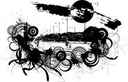 grunge предпосылки бесплатная иллюстрация
