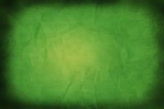 grunge предпосылки зеленое Стоковые Изображения RF