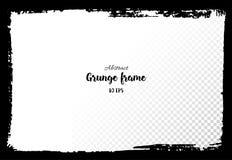 grunge рамки Нарисованные рукой текстурированные элементы дизайна Стоковая Фотография