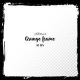 grunge рамки Нарисованные рукой текстурированные элементы дизайна Стоковая Фотография RF