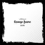 grunge рамки Нарисованные рукой текстурированные элементы дизайна Стоковые Изображения RF