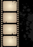 grunge рамки пленки Стоковое фото RF