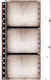 grunge рамки пленки Стоковая Фотография RF