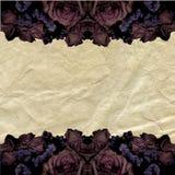 grunge рамки романтичное Стоковые Фотографии RF
