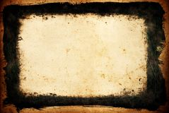 grunge рамки элемента Стоковая Фотография RF
