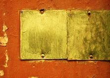 grunge рамки Стоковая Фотография