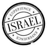 Grunge резины штемпеля Израиля Стоковые Изображения
