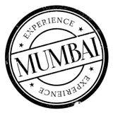 Grunge резины штемпеля Мумбая Стоковые Изображения