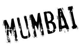 Grunge резины штемпеля Мумбая Стоковое Изображение RF
