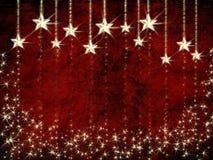 grunge рождества предпосылки Стоковые Изображения RF