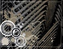grunge серого цвета предпосылки Стоковое фото RF