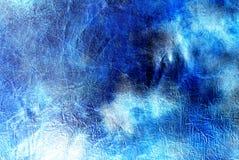 grunge сини предпосылки Стоковое Изображение RF